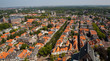 Delft City Houses from above