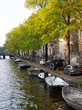 Amsterdam Canal and Sidewalk