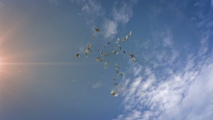 Dollars Falling From the Sky