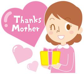 お母さんありがとう(母の日)