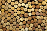A lot of wine corks for a beautiful background