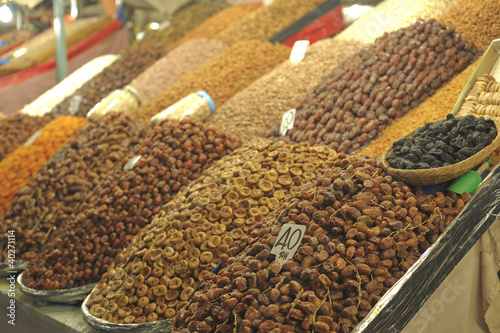 Marrakesh street food - dried fruit