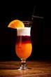 Three-layered cocktail