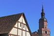 Fachwerk und Kreuzkirche