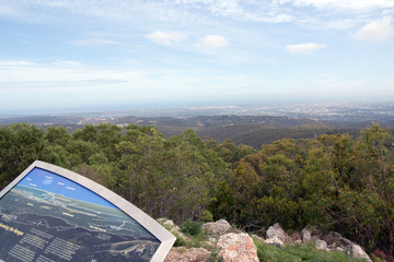 Adelaide, South Australia from Mount Lofty