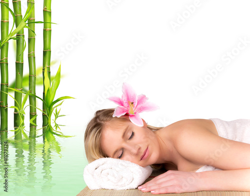 Fototapeten,aroma therapy,attraktiv,bambus,schön