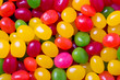 Jelly bean background with large beans
