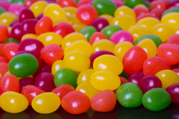 Large group of jelly beans