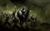 Fototapete Armee - Angriff - Antike