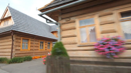 Chocholow old mountain village, Poland