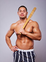 Image of baseball player