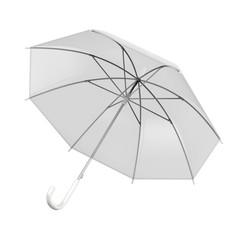 ビニール傘_白バック