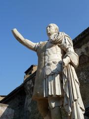 Statue de Nonius Balbius, Ercolano, Italie