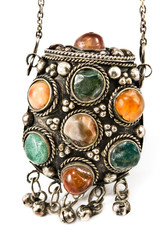 Antique snuffbox with gems i