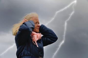 Angst vorm Blitz
