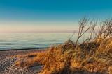 Abends an der Ostseeküste.