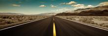 """Постер, картина, фотообои """"road"""""""