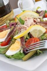Salade Nicoise or Nicoise salad