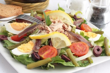 Nicoise salad or Salade Nicoise