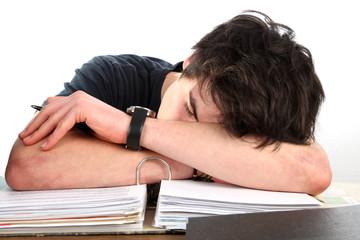 Gesunder Büroschlaf