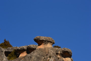 Felsformationen in Cuenca