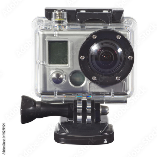 Modern waterproof camera