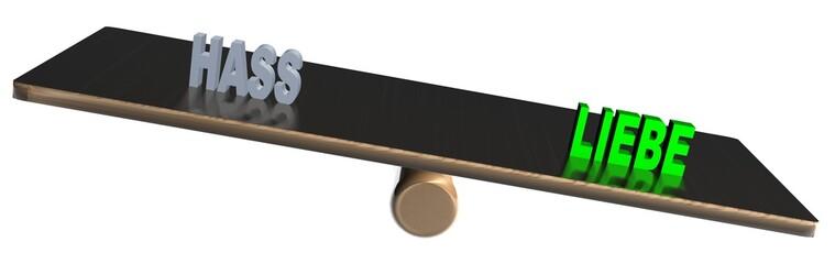3D Waage2 - HASS - LIEBE
