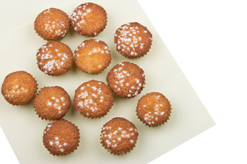fresh small muffins