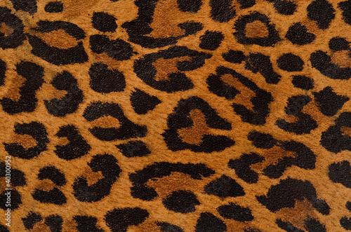Fotobehang Stof Leopard print pattern