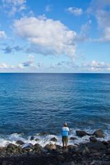 Pêcheur ile de la Réunion