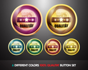 Colorful 100% Qualitat Button Set