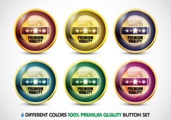 Colorful 100% Premium Quality Button Set