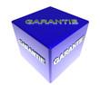 3D Blauwuerfel - GARANTIE