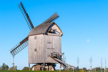 Paltrockwindmühle bei Storkow, Vorpommern