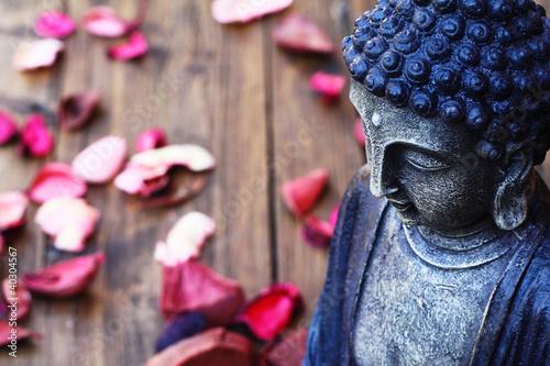 Aluminium Boeddha Buddhafigur