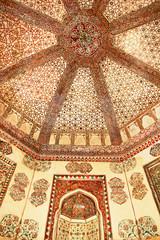 Decoration of the Jama Masjid.  Fatehpur Sikri, India