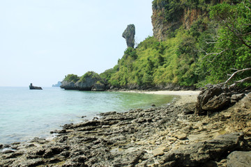 Chicken Island in Railay Beach - Thailand