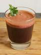 glass of freshly juiced vegetables