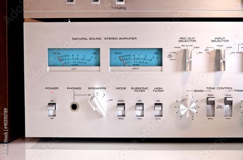 Analog Sound Recording Controls