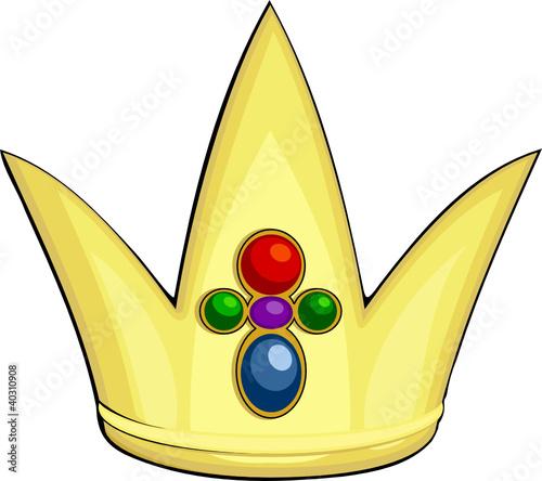 公主戴皇冠卡通 公主戴皇冠图片