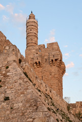 David's tower in Jerusalem, Israel