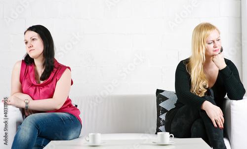Conflict between two women