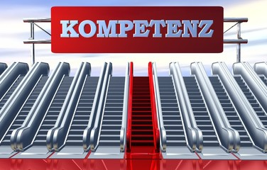 3D Rolltreppen - KOMPETENZ
