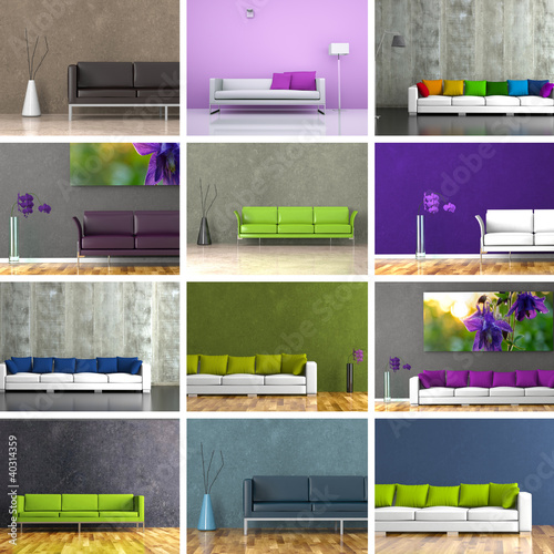 Sofasammlung - 12 Sofadesigns