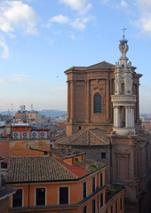 Rome, Saint Andrea Fratte church