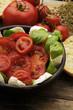 Insalata caprese Caprese salad 卡普雷塞沙拉