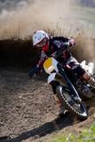 Fototapeta motocyklista - sport - Sporty motorowe