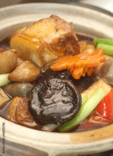 Food - Braised Beancurd with Mushroom