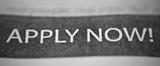 Job Application Newspaper Ad