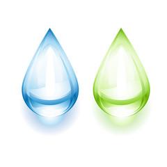 Gouttes d'eau écologiques